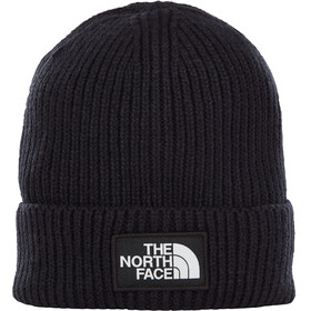 The North Face TNF Logo Box Cuff Beanie TNF Black
